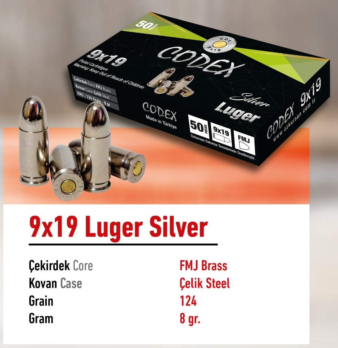 Luger Silver 9x19